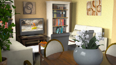 rustik - Classic - Living room  - by liling