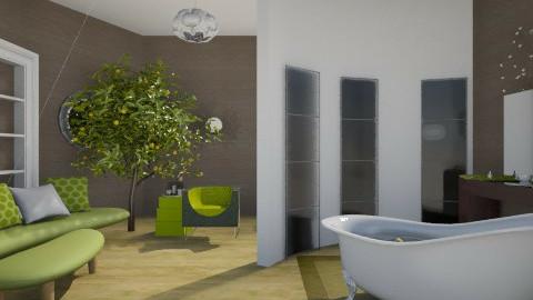 Fresh as Kiwi - Modern - Bathroom  - by lauracopey
