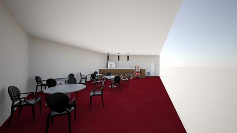 Movie Theatre Lobby Set - Modern - by eevaaaa