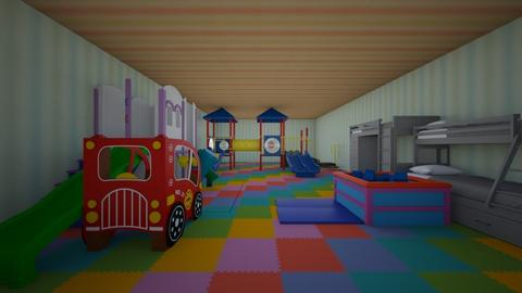 KIDDY FUN ROOM - Kids room  - by GPY_dizzel
