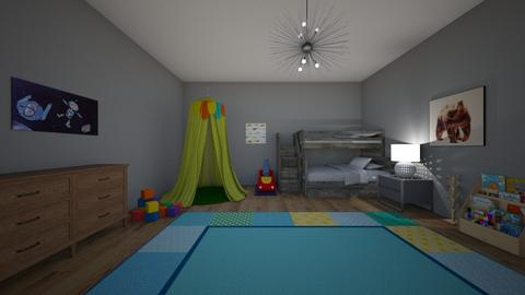 little boys bedroom - Kids room  - by kph99