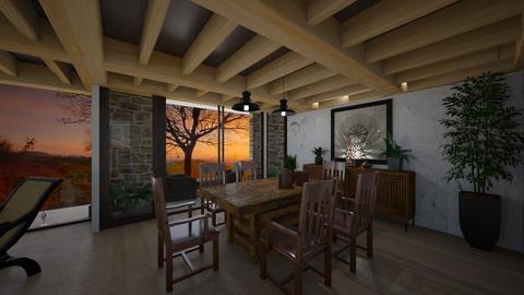 Proyecto Pedro Pablo - Rustic - Living room  - by JENELISA