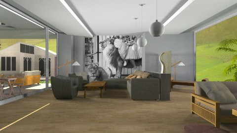 open space - Minimal - Living room  - by Boccafella