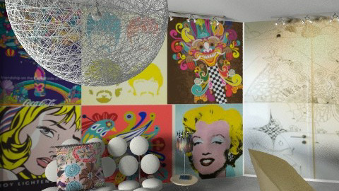 solo wallpaper bien - Eclectic - Office  - by ashleydanuta