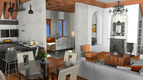 06 - Living room - by georgianasouza