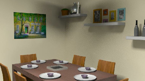 dining 3 - Dining Room  - by teriwong