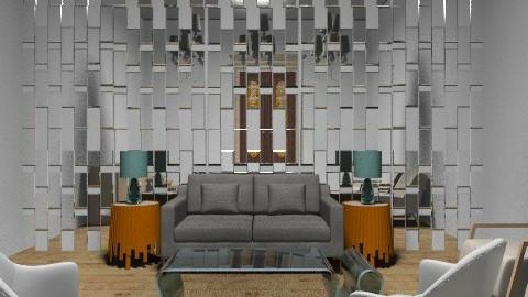 Neutral~Orange - Minimal - Living room  - by Coco_Juno