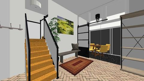 Entry way with stairs - by SDFDesigns