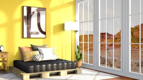 Desert - Bedroom - by Cameroni