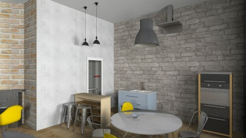 TESLINA 12 7 - Retro - Kitchen  - by novax