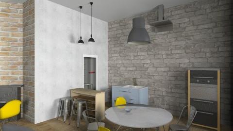 TESLINA 12 7 - Retro - Kitchen  - by novax
