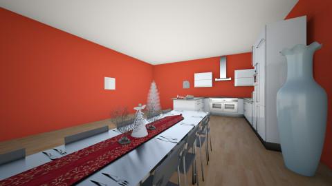 christmas kithen - Minimal - Kitchen  - by deleted_1488513744_Vienna Kapty