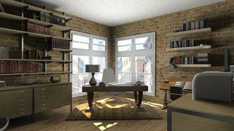 Escritorio Simples - Eclectic - Office - by Willians
