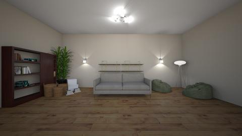 Sitting Area - Minimal - Living room  - by natalieeyauu
