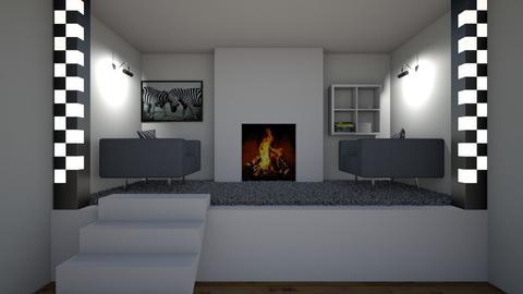 luxury snug - Modern - Living room  - by riordan simpson