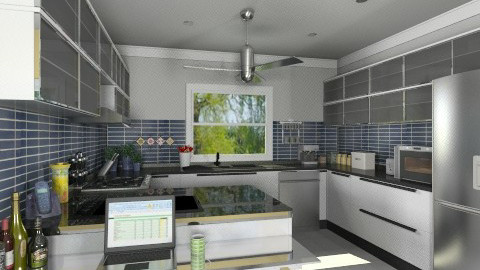 My kitchen Redo3 - Modern - Kitchen  - by Bibiche