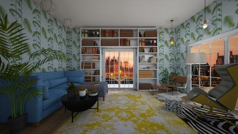 London Apartment Living - Eclectic - Living room - by 011958
