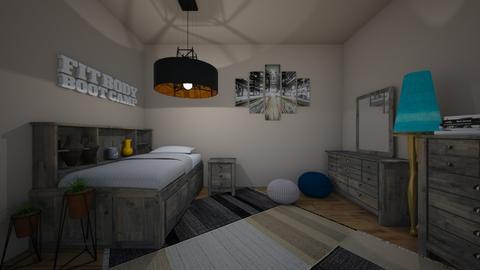 Room - Bedroom - by sak2007