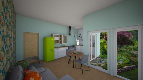 Peaceful living view2 - Living room - by Veeveenatyisy