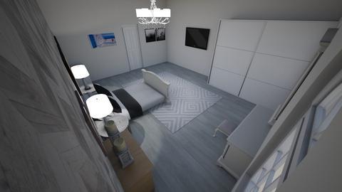 white bedroom - Bedroom - by RALU 1234