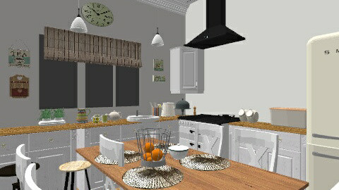 My Cottage kitchen - Country - Kitchen  - by tanyusha12
