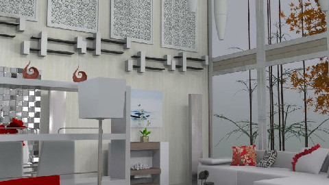 New minimalist loft - Minimal - Living room  - by carolinafer