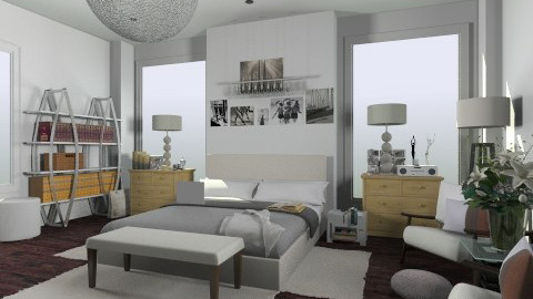 easy - Eclectic - Bedroom  - by nataliaMSG