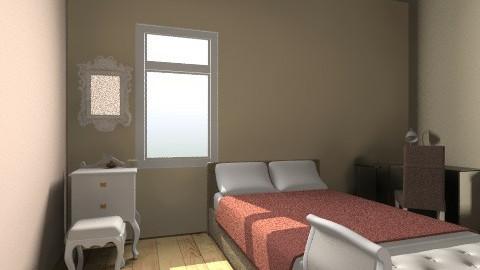 classic v bedroom - Vintage - Bedroom  - by Maulidya Sary