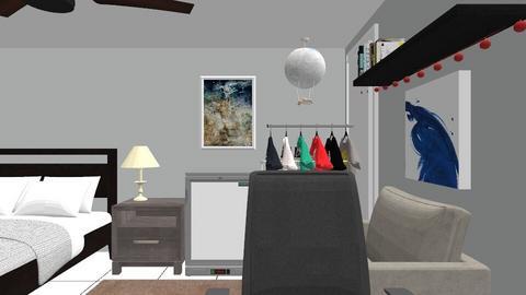 Room1 Copy - Bedroom  - by yoellpineda