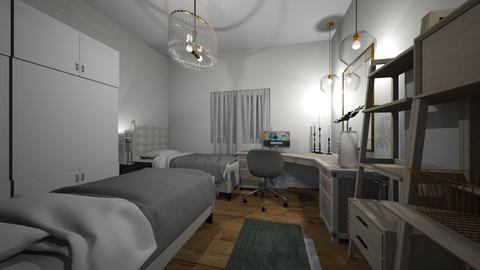 2  boys bedtoom - Classic - Bedroom - by 078