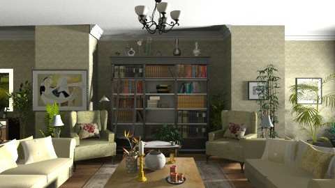 A touch of style - Classic - Living room  - by GALE88