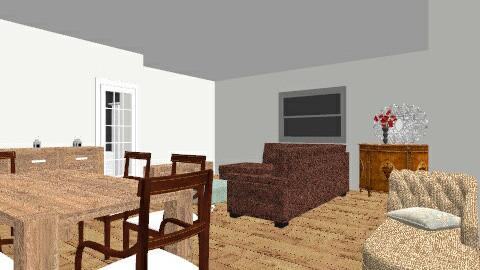 salon_bureta - Vintage - Living room  - by ffc05