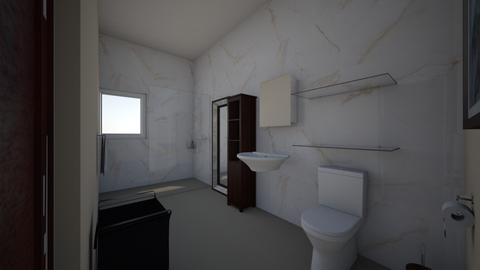 room bath 3 - Bathroom  - by bohemaledesing