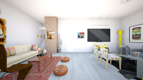 living room - Living room  - by noraaltheeyb