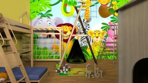 jungle room - Kids room  - by ANAAPRIL