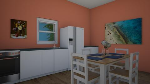 SmallHouseRoom2 kitchen  - Kitchen  - by KatieOfTheCats