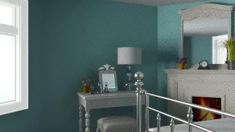 A Night In Paris - Vintage - Bedroom  - by Allie03102