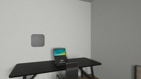 My home office - Minimal - by civilthekuk