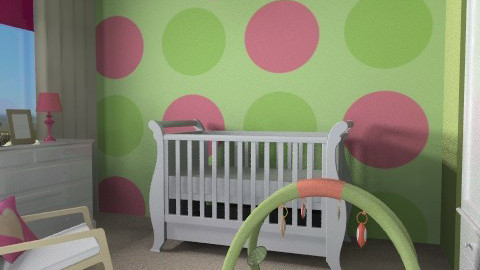 Matliy Nursery - Eclectic - Kids room  - by channing4