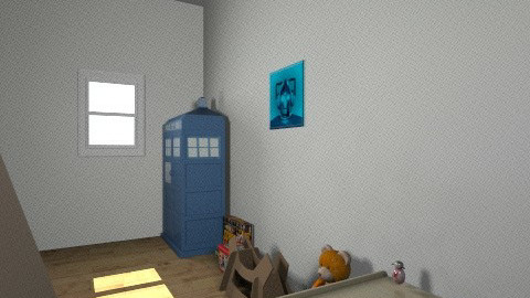 bedroom - Classic - Kids room  - by catandsam