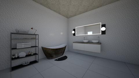 bathroom - by zandile