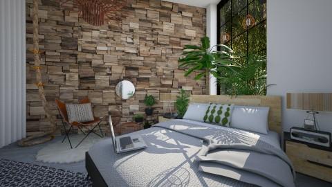 Plant Deco Loft - Bedroom  - by StienAerts