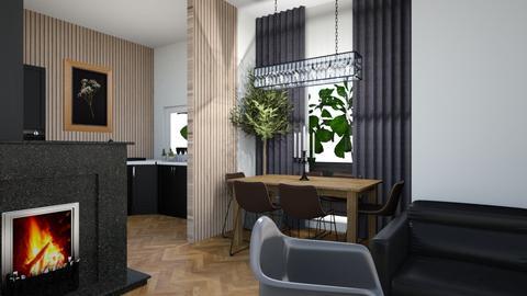 mieszkanie1 - Living room  - by Aga1977