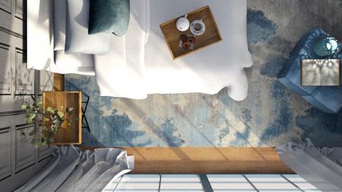 In the air - Bedroom  - by eliseatlife