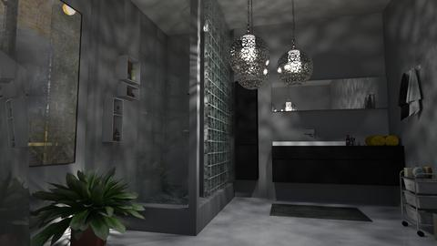 b a t h  - Vintage - Bathroom  - by vallequeen