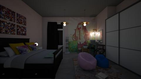 Anime - Bedroom - by Lolo Loves Interior Design