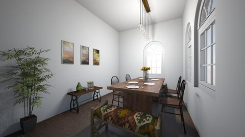Country dining room - Country - Dining room  - by anapogorelec