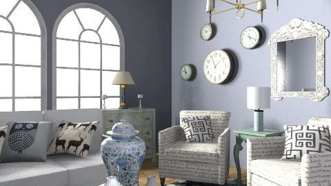 Living - Eclectic - Living room  - by hunny