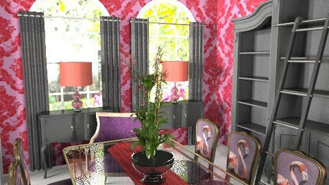 Glam it up! Dining Room - Glamour - Living room  - by MaryFerrisFDC