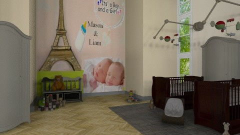 M n L 7 - Classic - Kids room  - by dipselvic